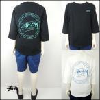 STUSSY(ステューシー) KIDS LAGUNA DOT RAGLAN 7分袖Tシャツ  (90-130)