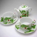 カップ&ソーサー ティーカップ コーヒーカップティーポット イタリア TAITU Tea For Two フラゴリーネ
