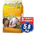 ソルビダ グレインフリー チキン 室内飼育子犬用 5.8kg ドッグフード インドアパピー SOLVIDA