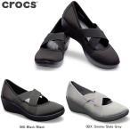 クロックス レディースコンフォートシューズ ビジーデイ ストラッピー ウェッジ ウィメンズ 205306 crocs レディス Men
