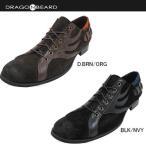ドラゴンベアード メンズ Men's DRAGON BEARD DX220 レースアップ スエード カジュアルシューズ 男性用