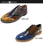 ドラゴンベアード メンズ Men's DRAGON BEARD DX301 ウィングチップ カジュアルシューズ 男性用