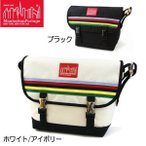 マンハッタン ポーテージ メッセンジャーバッグ Manhattan Portage Rainbow Stripes Vintage Messenger Bag MP1606VJRRS