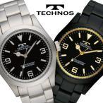 腕時計 メンズ TECHNOS テクノス TSM208 レビューを書いてベルト調整工具付き 送料無料