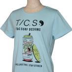TOWN&COUNTRY(タウン&カントリー)_レディース_半袖Tシャツ【サックス(COL.10)】_DL1125