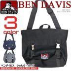 BEN DAVIS ショルダーバッグ ベンデイビス METAL SHOULDER BAG シンプル ゴリラ ワンポイント 男女兼用 BEN-789