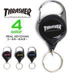 ショッピングキーホルダー THRASHER リールキーホルダー スラッシャー リールキー ブランドロゴ 小物アイテム キーホルダー 商品番号 THRASHER-1032