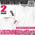 VISION Tシャツ VISION STREET WEAR 半袖Tシャツ ヴィジョンストリートウェア トップス ロゴプリントがお洒落なTシャツ。VISION-011