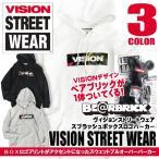 VISION STREET WEAR メンズ パーカー ヴィジョンストリートウェア ボックスロゴ パーカー BE@RBRICK VISION-087