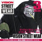 VISION STREET WEAR ミリタリージャケット 中綿入り ビジョンストリートウェア MA-1 メンズ 商品番号 VISION-097