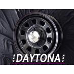 4本セット★送料無料★ DAYTONA デイトナ ブラックレッドブルーライン 15インチ 6.5 +40 6穴 PCD139.7 ハイエース