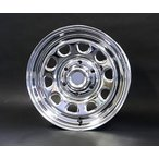 送料無料 デイトナSS クロームメッキ グッドイヤー イーグル ナスカー 215/65R16 109/107R (荷重対応) ホワイトレター 200系ハイエース用タイヤSET