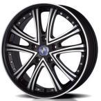 送料無料 モンツァ ワーウィックDS05 ブラックポリッシュ 245/40R19 国産 タイヤ ホイール4本セット 50エスティマ、アルファード、E51エルグランド等