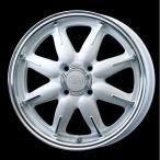送料無料 ENKEI エンケイ all one オールワン ホワイト 白 165/60R15  国産タイヤ ホイール4本セット ハスラー キャスト 等