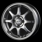 送料無料 インターミラノ LCZ008 軽量エコホイール 165/55R14 国産 低燃費タイヤ ホイール4本セット バモス アトレー パレット ルークス
