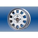 送料無料 ララパームMD10 ホワイトブルーライン 165/55R15 国産タイヤ ホイール4本セット ムーブ タント N-BOX等