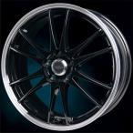 送料無料 クロススピードプレミアム6ライト ブラックリムポリッシュ 215/45R17 国産タイヤ ホイール4本セット PCD114.3 ノア VOXY セレナ