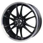 送料無料 クロススピード プレミアム6ライト ブラック 215/50R17 国産タイヤ ホイール4本セット PCD114.3 ノア エスクァイア プリウスα レヴォーグ