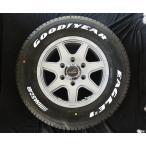 送料無料 ラストラーダ ティラード クロス シルバー グッドイヤー ナスカー ホワイトレター 195/80R15 107/105L NV350 キャラバン 専用 4本タイヤ セット