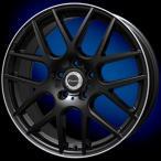 送料無料 クロススピード XM ブラック 225/40R18 国産タイヤ ホイール4本セット PCD114.3 ステップワゴン ノア VOXY エスクァイア