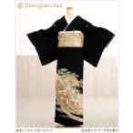 桂由美 留袖レンタル ts165 黒留袖 フルセット 留め袖 結婚式 「万葉の響き」 着物レンタル 人気 母親 Yumikatsura