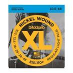 D'Addario XL EXL110+ NICKEL WOUND