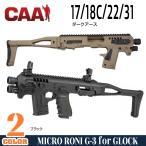 CAAタクティカル 実物 MICRO RONI G-3 グロック17/18C/22/31 PDW CAAtactical コンバージョンキット