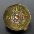 マグネット WINCHESTER 弾底部 真鍮 ショットガン 散弾銃 強力磁石 面白いマグネット