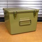 米軍放出品 メディカルボックス 救急箱 プラスチック樹脂製 OD メディカルバッグ 医療品ケース ミリタリーボックス First Aid kit