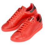 メンズ アディダス ラフシモンズ スタンスミス 靴 スニーカー コラボ レッド × ブラック adidas × RAF SIMONS STAN SMITH BA7377