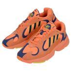 adidas Originals アディダス オリジナルス YUNG-1 B37613 ヤングワン メンズ スニーカー 靴 ローカット オレンジ 橙 イエロー 黄 ネイビー 紺 スエード ロゴ(ad