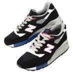 メンズ ニューバランス スエード レザー スニーカー 靴 ブラック 998  New Balance M998BK