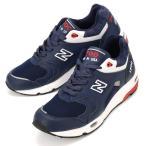 送料無料  メンズ/レディース  ニューバランス レザー ネイビー ホワイト レッド スニーカー 靴 1700  New Balance M1700CME