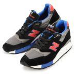 メンズ New Balance M998CBL Made in USA ニューバランス スニーカー ジョギング ランニング シューズ 靴 998 ブラック グレー ブルー レッド スエード メッシュ