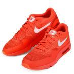 メンズ  ナイキ エア マックス 1 ウルトラ フライニット 靴 スニーカ クリムゾン レッド  NIKE AIR MAX 1 ULTRA FLYKNIT 843384 601