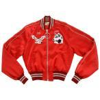 オフホワイト スカジャン 刺繍 ジャケット OFF-WHITE Greenland Souvenir Jacket OWEA061S173732122088 レディース 赤