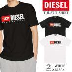 【2色】ディーゼル Tシャツ 半袖 メンズ ロゴ ホワイ
