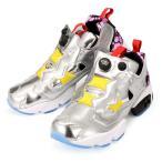 日本未入荷  メンズ/レディース   リーボック インスタポンプフューリー スニーカー 靴 メタリック シルバー    REEBOK INSTA PUMP FURY OB AR1445