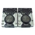 【中古】 Pioneer パイオニア CDJ-400 デジタル DJ CD プレイヤー 2台セット  T2585127