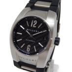 【中古】 BVLGARI ブルガリ エルゴン EG35BSVD 自動巻き ラバー メンズ 腕時計   ...