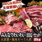 送料無料 大容量 みんなでわいわい バーベキューセット BBQセット 6人前〜7人前 焼肉用の肉 焼肉用肉 焼肉セット 訳あり 肉 焼肉 お中元