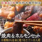 《送料無料》8種選べる焼肉&ホルモンセット(7人前〜8人前)焼肉 セット・業務用・福袋