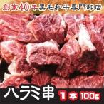 トップチョイス牛ハラミ・サガリ肉厚串 1本 《100g》 バーベキュ- BBQ