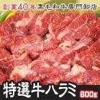 希少!トップチョイス牛ハラミ 200g×3パック 計600g ホルモン専門卸店の秘伝ホルモンたれ(選べる)味付 小分けで便利!焼くだけ