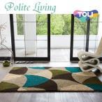 レトロなパターン柄で暖かみのあるラグ 新生活 ホットカーペット対応/絨毯/カーペット/フロアマット/東リ TOR3816[REROOM]