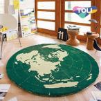 ショッピング円 ラグ 円形 ラグマット リビングにも一人暮らしの方にもオススメ 東リのラグ/絨毯/カーペット/フロアマット/東リ TOR3852[REROOM]