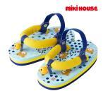 ミキハウス【MIKI HOUSE】リンリン♪くまさんジャパニーズサンダル[浴衣・甚平用](13cm-18cm)