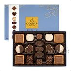♪GODIVA ゴディバ ビスキュイ コレクション 36枚 <お菓子・チョコレート・ビスキュイ> <バレンタインデー・ホワイトデーのお返しに>