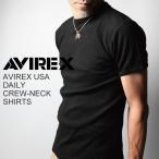 AVIREX(アビレックス/アヴィレックス) Tシャツ クルーネック 半袖 メンズ
