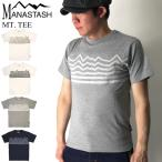 30%OFF!! (マナスタッシュ) MANASTASH クールマックス マウンテン Tシャツ クルーネックTシャツ